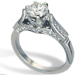 pear shaped diamond engagement rings.